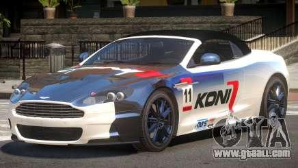 Aston Martin DBS Volante SR PJ4 for GTA 4