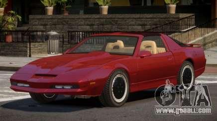 1985 Pontiac Trans Am KITT for GTA 4