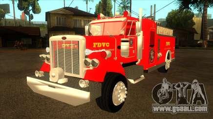 Peterbilt 379 Fire Truck for GTA San Andreas