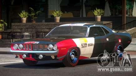 1969 Plymouth Cuda GT PJ5 for GTA 4