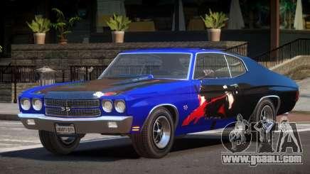 Chevrolet Chevelle 454 GT PJ3 for GTA 4