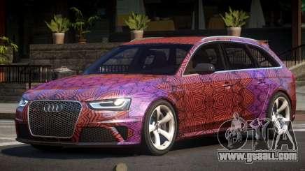 Audi RS4 GST PJ3 for GTA 4