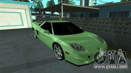 Honda NSX-R (SA Style) for GTA San Andreas