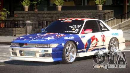 Nissan Silvia S13 TR PJ6 for GTA 4
