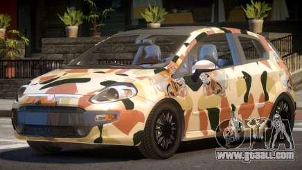 Fiat Punto TR PJ6 for GTA 4