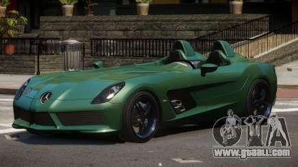 Mercedes Benz SLR TRG48 for GTA 4