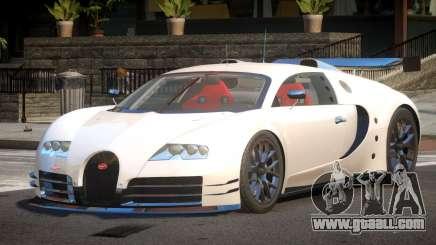 Bugatti Veyron SR 16.4 for GTA 4
