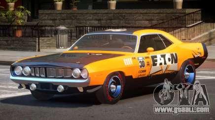 1969 Plymouth Cuda GT PJ3 for GTA 4