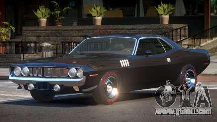 1969 Plymouth Cuda GT for GTA 4
