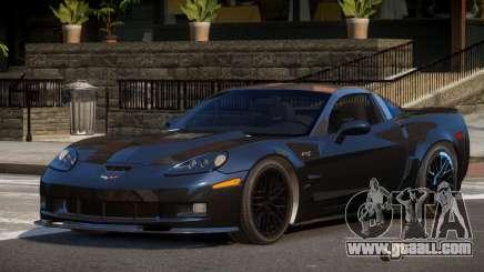 Chevrolet Corvette R-Tuned for GTA 4