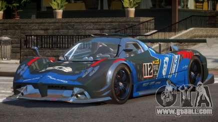 Pagani Zonda SR PJ4 for GTA 4