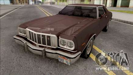 Ford Gran Torino 1976 Brown for GTA San Andreas