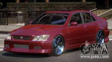 Toyota Altezza SL for GTA 4