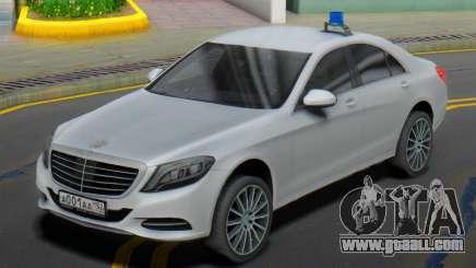 Mercedes-Benz S500 W222 ELS for GTA San Andreas
