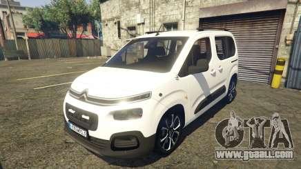 2019 Citroen Berlingo v3.0 for GTA 5