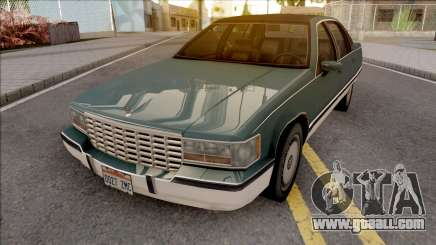 Cadillac Fleetwood Brougham 1993 v2 for GTA San Andreas