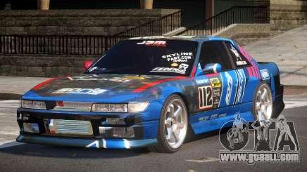 Nissan Silvia S13 TR PJ1 for GTA 4