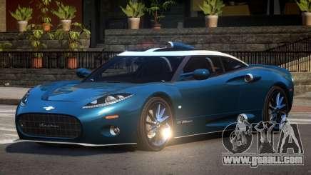 Spyker C8 M-Sport for GTA 4