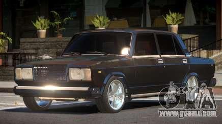 VAZ 2107 RG for GTA 4