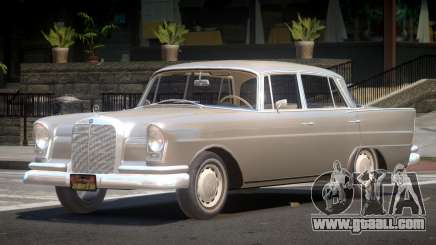 Mercedes Benz W111 V1.2 for GTA 4