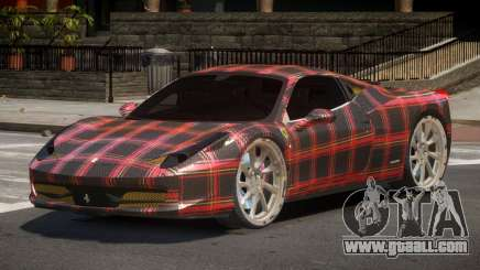 Ferrari 458 R-Tuned PJ6 for GTA 4