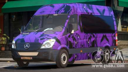Mercedes Benz Sprinter MR PJ5 for GTA 4