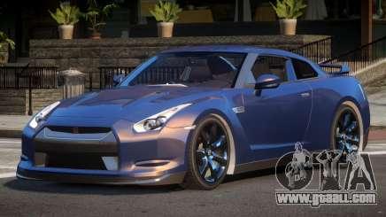 Nissan GTR ST for GTA 4