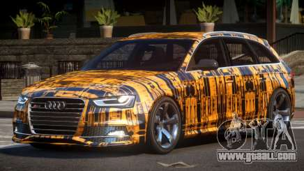 Audi RS4 GST PJ5 for GTA 4