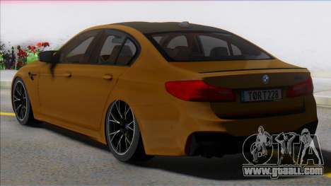 BMW M5 Competition for GTA San Andreas