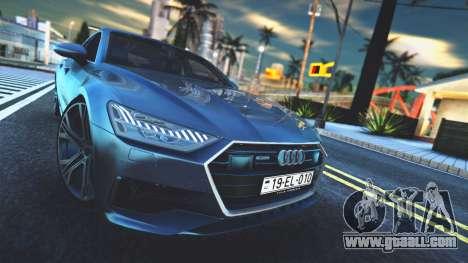 Audi A7 2020 for GTA San Andreas