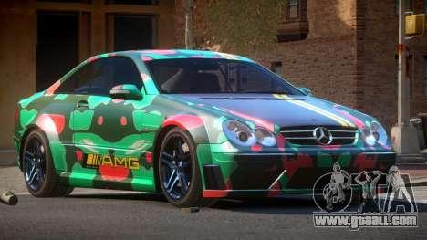 Mercedes Benz CLK63 SR PJ5 for GTA 4