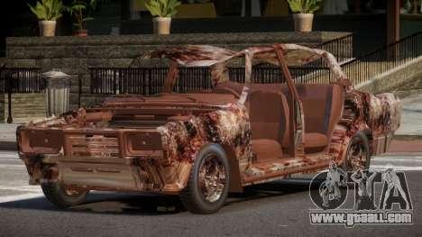 VAZ 2107 Rusty for GTA 4