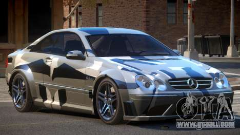 Mercedes Benz CLK63 SR PJ4 for GTA 4
