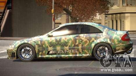 Mercedes Benz CLK63 SR PJ6 for GTA 4