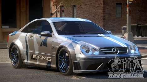 Mercedes Benz CLK63 SR PJ2 for GTA 4