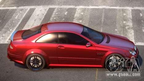 Mercedes Benz CLK63 SR for GTA 4