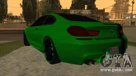 BMW M6 SE for GTA San Andreas