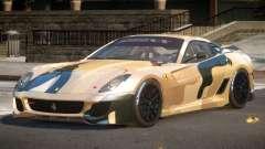 Ferrari 599XX SD PJ3 for GTA 4