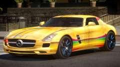 Mercedes Benz SLS GST PJ4 for GTA 4