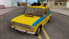 VAZ 2101 TRAFFIC POLICE 1975 for GTA San Andreas