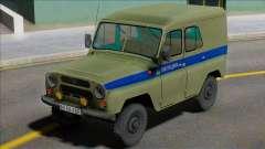 Uaz-469 Leningrad Police