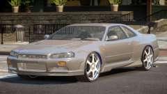 Nissan Skyline R34 BS for GTA 4