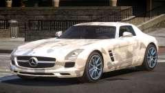 Mercedes Benz SLS GST PJ1 for GTA 4