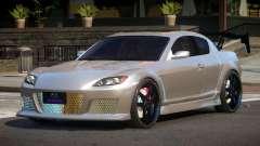 Mazda RX8 S-Tuning for GTA 4