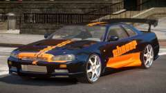 Nissan Skyline R34 BS PJ3 for GTA 4