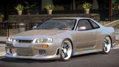 1998 Nissan Skyline R34 for GTA 4