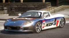 2005 Porsche Carrera GT PJ3 for GTA 4