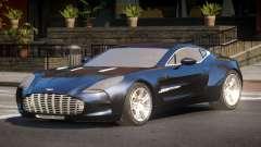 Aston Martin One-77 RP for GTA 4