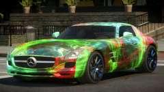 Mercedes Benz SLS GST PJ3 for GTA 4