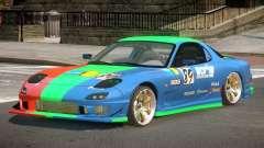 Mazda RX7 GST PJ1 for GTA 4